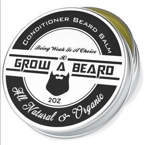Grow a beard natural professional beard balm